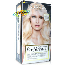 Loreal Preference Les Blondissimes Extreme Platinum Hair Lightener Colour Dye