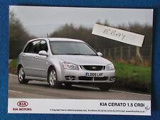 """Original Press Promo Photo - 8""""x6"""" - KIA - Cerato 1.5 CRDi - 2005"""