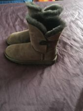 UGG BAILEY BOOTS EXCELLENT CONDITION SIZE 4.5 BROWN LADIES