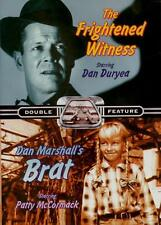 TV Double Feature-The Frightened Witness/Don Marshall's Brat- New & Sealed OD292