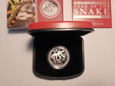 Australia 2013 1/2 Ounce Silver Snake Proof Coin Australian Bullion