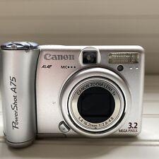 Canon PowerShot A75 3.2MP Digital Camera - Silver