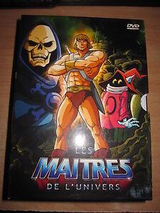 DVD LES MAITRES DE L'UNIVERS COFFRET DE 5 DECLIC IMAGES COMME NEUF 30 EPISODES