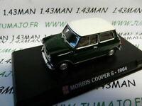 AP62G Voiture 1/43 IXO AUTO PLUS : Mini Morris cooper S 1964 verte
