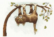 """Counted Cross Stitch Kit MAKE YOUR OWN HANDS P-21 - """"Help me!"""""""