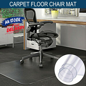 120x90CM Floor Protection Pads Chair Mats Office Home Computer Work Carpet ACB#