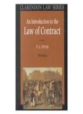 An Introduction to the Law of Contract (Clarendon Law Series),P. S. Atiyah