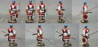 Painted Tin Toy Soldier Landsknecht 54mm 1/32