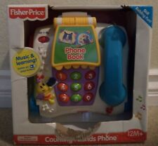 Fisher Price Brilliant Basics Counting Friends Phone 2007 B4759 *New*
