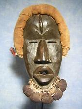 AFRICANTIC MASQUE DAN COTE D'IVOIRE ART AFRICAIN VINTAGE AFRICAN MASK AFRIQUE