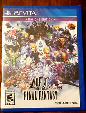 World of Final Fantasy (Sony PlayStation Vita, 2016) Ps Vita Day One Edition