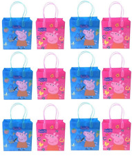 20 PCS Peppa Pig Goodie Bags Birthday Gift Loot Goody gift candy bag party favor