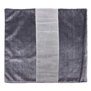 Decor Pillow Case Flannel Diamond Patckwork Modern Simple Throw Cover Pillowcase
