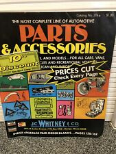 J.C. Whitney Co. Automotive Accessories and Parts Catalog No 376 Chicago 1978