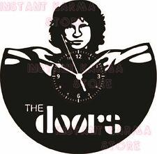 OROLOGIO DA PARETE ARTIGIANALE - DISCO VINILE - ROCK JIM MORRISON THE DOORS