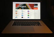 "Apple SUPER Macbook Pro Retina 15.4"" 2.7-3.7Ghz Quad Core i7 16GB RAM 756GB SSD"