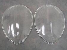 1937 1938 1939 Ford Car Standard CLEAR Glass Headlight Lens Lenses PAIR