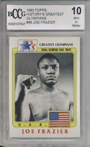 1983 Topps Olympians JOE FRAZIER #98 BCCG 10 MINT