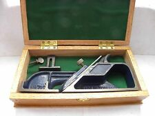 VINTAGE CASED RECORD No 712 SKEW RABBET PLANE WITH FREE P+P
