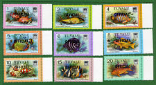 Tuvalu 19 stamps, SC O1 - O19,  Marine Life, 1981, MNH