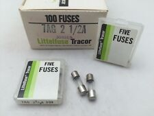 (5 pcs) 30302.5 Littelfuse, 2.5 Amp 125vac, Fast Acting Glass Fuse, 6x8mm