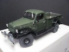Danbury Mint 1946 Dodge Power Wagon - Dark Green, 1/24 Die cast, Near Mint Cond.