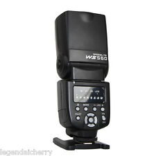 FLASH SPEEDLITE Speedlight wansen ws-560 per Nikon Canon Olympus Pentax Flash