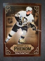 2005-06 Upper Deck Diary Of A Phenom #DP13 Sidney Crosby Pittsburgh Penguins RC
