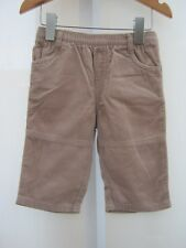 Next Baby Soft Cord Trousers 100% Cotton Size 3-6 Months FREE DELIVERY