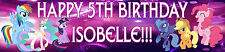 Personalised My Little Pony Birthday Banners - Toys, Cards, Calendars Posters