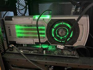 Nvidia Titan Xp Star Wars Collectors Edition Jedi Order 12GB GPU *Used*