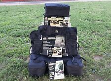 """MOSSY OAK"" WOLF POWER SPORTS ~5 PC ATV 4 WHEELER BAG SET~ BLACK"