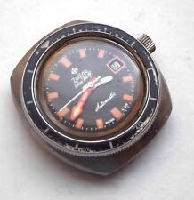 Vintage Ladys Zodiac Sea Wolf Divers Automatic/Date Wristwatch