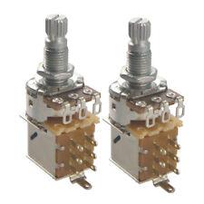 2pcs B25K Audio Volume Taper Potentiometer for Electric Guitar Bass Parts