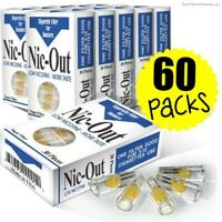 60 Nic-Out packs - Cigarette Filters Tar Nicotine (1800 Filters) wholesale