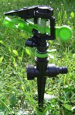 Bewässerungssystem Sprinkler Rasensprenkler bis 360 Grad neu