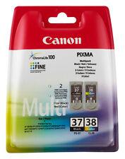 ORIGINAL CANON TINTE PATRONE PG37 + CL38 PIXMA MP140 MP190 MP210 MP220 MP470 SET