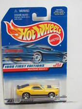 HOT WHEELS 1998 FIRST EDITIONS #670 MUSTANG MACH 1