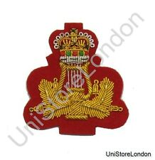 Band Master Arm Badge Band Lyre and Crown 2 Inch R650