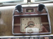 OLD DASH RADIO BLK KNOB ART DECO RAT ROD HOT COE SCTA PHILCO MOTOROLA DELCO LQQK
