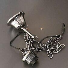 Kettenaufhängung Lampenpendel Leuchtenpendel Lampenaufhängung Schwarzchrom E27