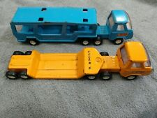 Vintage Buddy L Trucks And Trailers Pressed Steel Lot Of 2