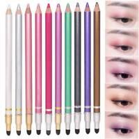 Glitter Eyeshadow Eyeliner Pens Durable Waterproof Sweatproof Double-Ended Eyes