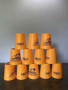 Speed Stacks Cups Stacking Set Quick Release Stem Orange Official WSSA