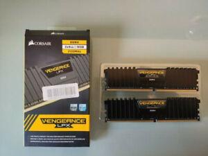 CORSAIRVENGEANCE LPX 16Go (2x8Go) PC4-17000 (DDR4-2133) Kit de Mémoire RAM