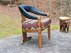 Unique Three-Legged Chair ~ Brutalist (?) MCM (?) era original