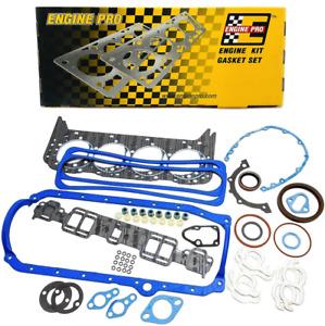 Full Engine Overhaul Gasket Set for 1987-1995 Chevrolet SBC 350 5.7L TBI
