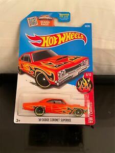 Hot Wheels HW Flames #4/10 '69 Dodge Coronet Superbee D2