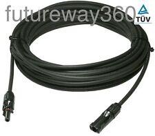 Pre-Crimped 4mm² solar panel PV cable MC4 connect 1m 2m 3m 5m 8m 10m 15m 25m 30m