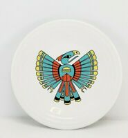 LUNCHEON PLATE thunderbird FIESTA exclusive NEW RELEASE turquoise poppy daffodil